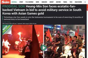 Báo chí Anh trực tiếp 'cơ hội' đi nghĩa vụ quân sự của Son Heung-min