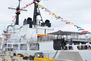 Hải quân Sri Lanka nhận tàu tuần duyên cỡ lớn của Mỹ
