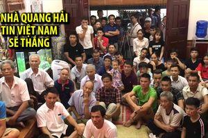 Bị dẫn bàn, gia đình Quang Hải vẫn tin Olympic Việt Nam sẽ thắng