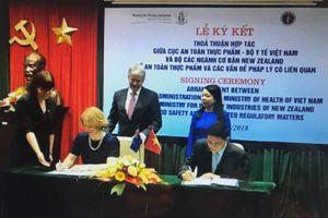 Việt Nam và New Zealand hợp tác trong lĩnh vực kiểm soát an toàn thực phẩm