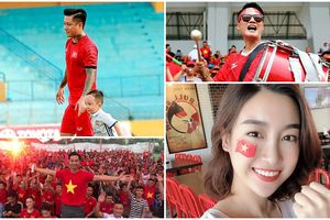 Sao Việt - Hàn động viên các tuyển thủ sau trận bán kết ASIAD 2018