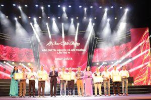 29 tác phẩm đạt Giải thưởng báo chí tài nguyên và môi trường lần thứ IV