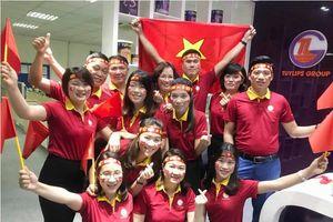 Nhiều công ty nghỉ làm để cổ vũ U23, thắng Hàn Quốc sếp còn thưởng 'nóng'