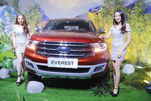 Ford Everest 2018 có giá bán từ hơn 1,1 tỷ đồng ở Việt Nam