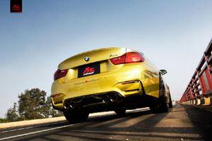 Clip: BMW M4 độ Pô Fi Ehaust kêu vang như 'súng máy'