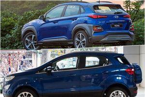 SUV cỡ nhỏ: Hyundai Kona 2018 đe dọa 'kẻ độc tôn' Ford EcoSport 2018?