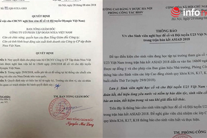 Nhiều công ty, trường học 'chơi lớn' cho nghỉ làm, nghỉ học để cổ vũ Olympic Việt Nam trận bán kết ASIAD 2018