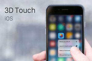 Apple chuẩn bị từ bỏ công nghệ 3D Touch?