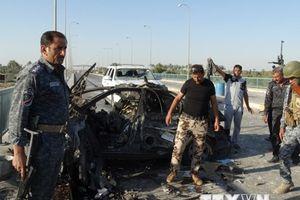 Tổ chức IS tuyên bố đánh bom xe liều chết ở miền Tây Iraq