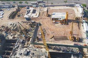 Đà Nẵng xử phạt 160 triệu đồng chủ công trình cao ốc xả thải 'chui'