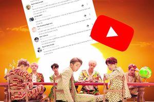 Bức xúc vì MV 'Idol' bị trừ hàng chục triệu views, fan BTS đổ xô đánh giá 1 sao ứng dụng YouTube