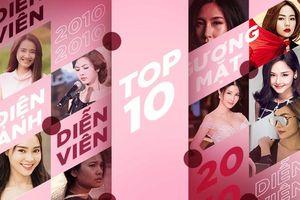 10 gương mặt nữ nổi bật của điện ảnh Việt trong mười năm qua