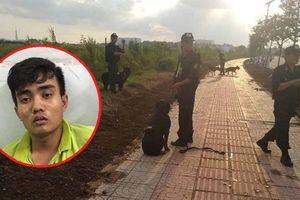 Huy động hàng chục chó nghiệp vụ truy bắt kẻ cướp xe ôm trốn 10 tiếng trong đồng cỏ lau