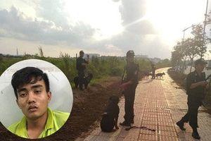 Sài Gòn: Chó nghiệp vụ 'săn' tên cướp khống chế tài xế GrabBike rồi trốn trong bãi sậy