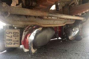 Người đàn ông chết thảm dưới bánh xe tải sau va chạm mạnh