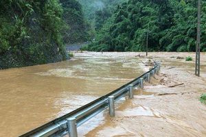 Người đàn ông mất tích vì mưa lũ ở Sơn La