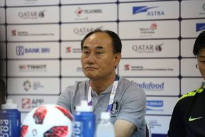 HLV Olympic Hàn Quốc: 'Tôi cảm thấy tiếc cho HLV Park Hang Seo'