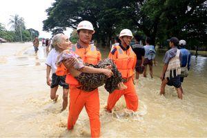 Vỡ đập ở miền Trung Myanmar, hơn 50.000 người phải sơ tán
