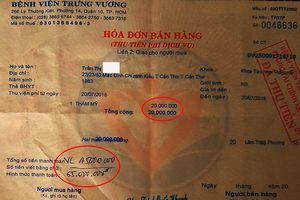 Thanh tra vào cuộc nghi vấn BV Trưng Vương bỏ ngoài sổ sách