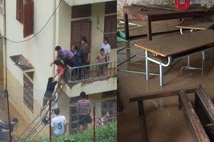Xót xa giáo viên, học sinh vùng cao hốt hoảng chạy lũ trước ngày khai giảng