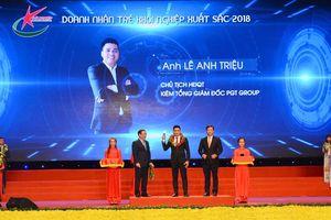 5 doanh nhân trẻ Đà Nẵng được vinh danh 'Doanh nhân trẻ khởi nghiệp xuất sắc 2018'