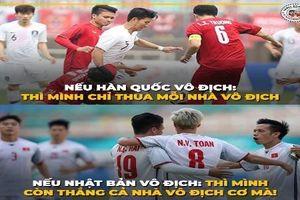 Dân mạng tưng bừng chế ảnh Olympic Việt Nam dù thua trận
