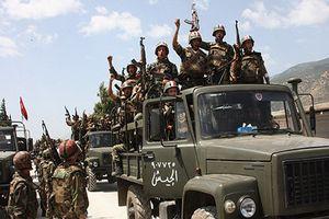 Quân đội Syria thắng lớn, IS sụp đổ hoàn toàn tại Sweida
