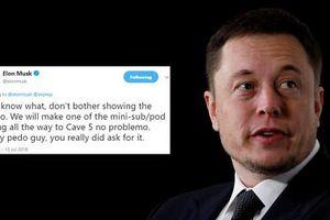 Chuyên gia cứu hộ đội bóng nhí Thái Lan kiện tỷ phú Elon Musk tội phỉ báng