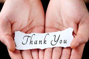 Nói lời 'cảm ơn' khiến người khác cảm thấy 'hạnh phúc'