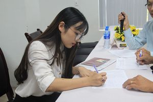 Gần 80 giáo viên trúng tuyển được chọn trường công tác