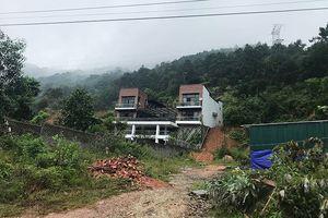 Cận cảnh hàng chục hecta rừng bị 'xẻ thịt' xây biệt thự