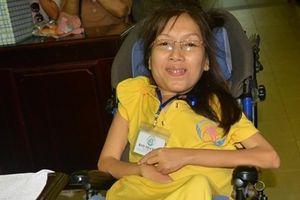 Nghị lực phi thường của người phụ nữ khuyết tật