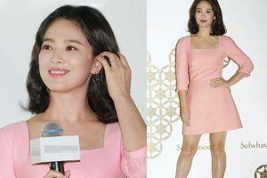 Song Hye Kyo luôn được khen xuất sắc nhưng đôi chân thô kệch dù làm mọi cách vẫn chẳng thể đẹp hơn