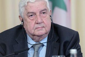 Ngoại trưởng Syria Muallem lên tiếng cảnh báo Mỹ và đồng minh