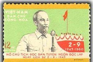 Quốc khánh Việt Nam qua những cánh tem thư