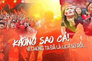 Nhìn lại 90 phút đầy cảm xúc của các CĐV theo dõi trận bán kết của Olympic Việt Nam: Từ vui mừng hạnh phúc đến bật khóc trong mưa