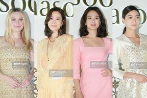'Nhàn Phi' Xa Thi Mạn cùng Song Hye Kyo tỏa sáng, lấn át mỹ nhân Hollywood và Thái Lan