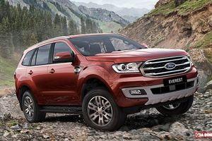 Ford Everest 2018 ra mắt, giảm hơn nửa tỉ đồng so với phiên bản cũ để cạnh tranh Fortuner 2019