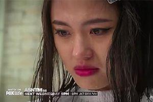 Rima Thanh Vy khóc đòi đổi kiểu tóc ở Siêu mẫu châu Á 2018
