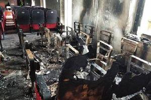 Thanh Hóa: Trụ sở xã bất ngờ bốc cháy, thiệt hại gần 600 triệu đồng