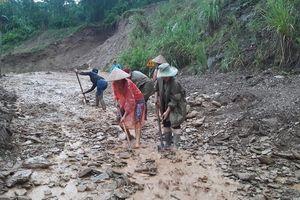 Huyện Quan Hóa nỗ lực khắc phục thiệt hại do sạt lở đất