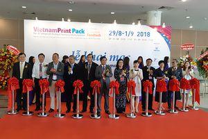 Hơn 300 doanh nghiệp tham gia VietnamPrintPackFoodtech 2018