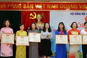 Hội đồng Đội quận Hoàng Mai: Nhiều thành tích tiêu biểu