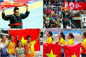 Các vận động viên Việt Nam giành HCV tại ASIAD 2018