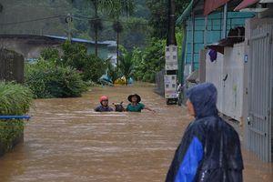 Cập nhật hình ảnh mới nhất về mưa lũ tại huyện Mai Sơn, tỉnh Sơn La