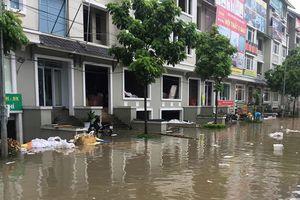 Xử lý úng ngập tại các khu dân cư phía Tây Nam Hà Nội: Bài toán khó!