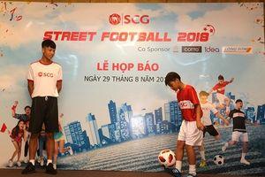 Cơ hội cho tài năng bóng đá đường phố