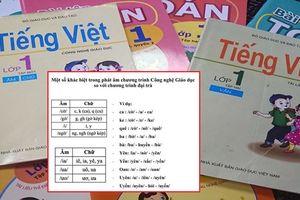 Đánh vần theo sách Tiếng Việt 1 Công nghệ Giáo dục khiến phụ huynh hoang mang: Tiến sĩ giáo dục lý giải thế nào?