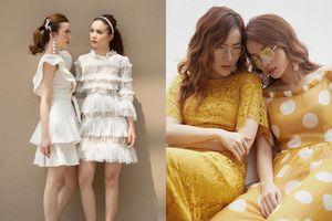 Phong cách thời trang đồng điệu của chị em Yến Trang - Yến Nhi