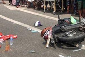 Thiếu nữ tử vong khi xe máy chở ba gặp nạn